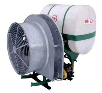 Опрыскиватель вентиляторный навесной (ОВ-400(630))
