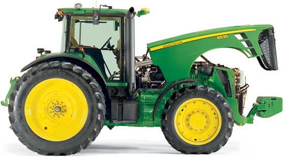 Трактор универсально-пропашной (John Deere 8030)