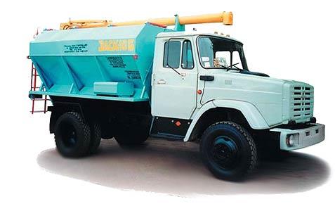 Автомобиль для загрузки и транспортировки сухих кормов (ЗАСК)
