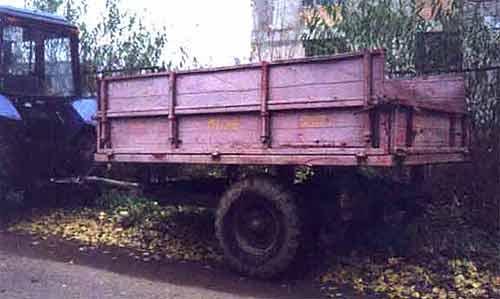 Полуприцеп тракторный (ПТ-20)
