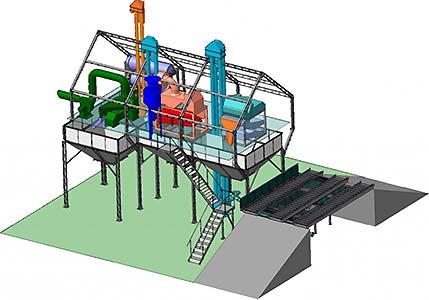 Агрегат зерноочистительный универсальный (ЗАВ)