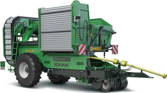 Комбайн картофелеуборочный двухрядный бункерный (AVR 220B Variant)