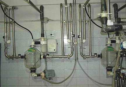 Установка доильная с молокопроводом (УДМ)