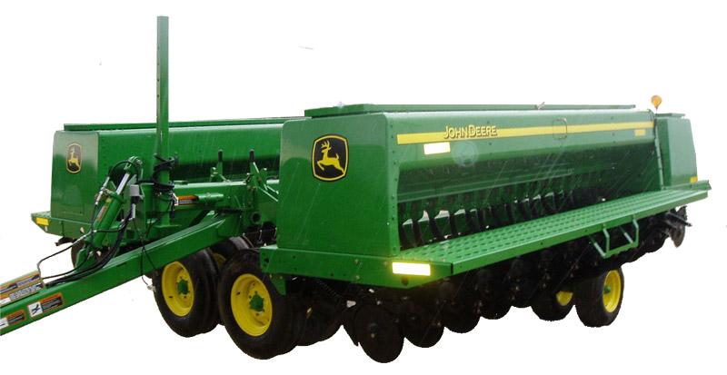 Сеялка зерновая складывающаяся (John Deere 455)