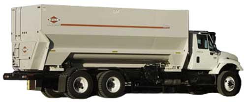 Грузовик для подвоза и раздачи корма (Kuhn 70110)