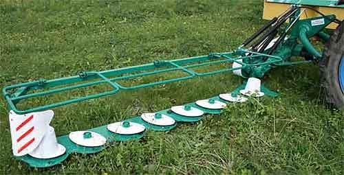 Косилка навесная роторная с шестеренчатым приводом роторов (Аграмак)