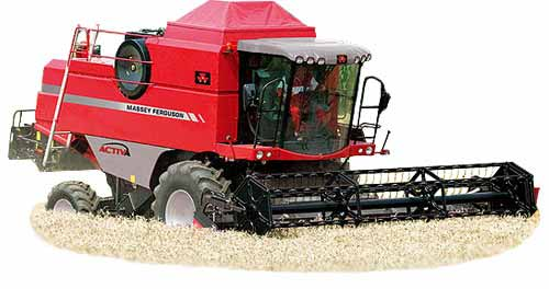 Комбайн зерноуборочный (Activa)