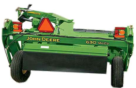Косилка-плющилка (John Deere 600)