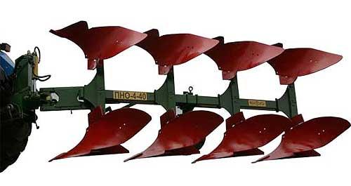 Плуг 4-х корпусной навесной оборотный (ПНО-4-40К)