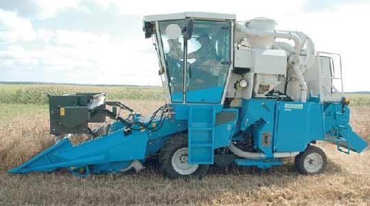 Комбайн селекционный зерноуборочный Wintersteiger - ВИМ (Delta)