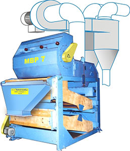 Машина предварительной очистки (МВР-7 (МПУ-70))
