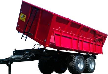 Прицеп самосвал тракторный (LMR-16T)