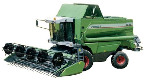 Комбайн зерноуборочный (Fendt 8000)