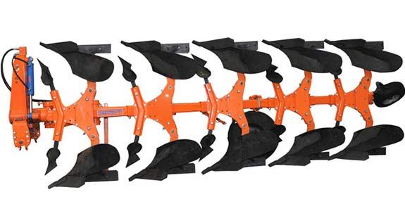 Плуг 3-5-ти корпусной навесной оборотный гладкой вспашки (ПГВ)