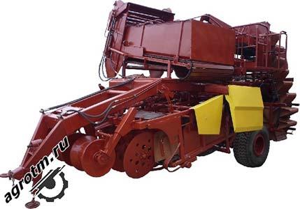 Комбайн картофелеуборочный (КПК-2-01)
