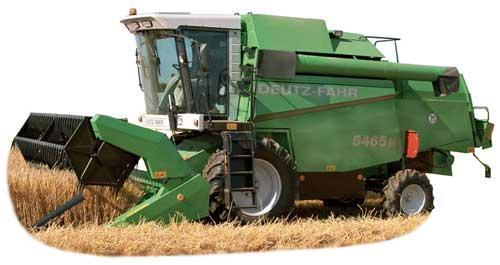 Комбайн зерноуборочный (Deutz-Fahr 54)