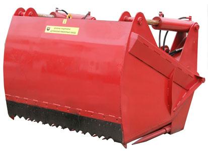Оборудование для фронтальной выемки кормов из траншей (ОФК-1,8)