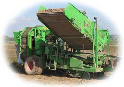 Комбайн картофелеуборочный (AVR-220B)