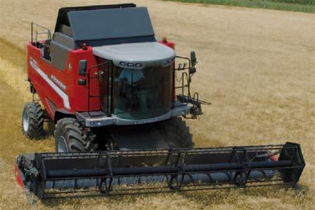 Комбайн зерноуборочный (Laverda M)