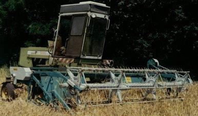 Жатка зернобобовая модернизированная (ЖБВ)