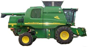 Комбайн зерноуборочный (John Deere 9660 СWS)
