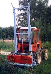 Агрегат для уборки ягод черной смородины (АУС-8)