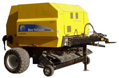 Пресс-подборщик рулонный (New Holland BR 550 (560A, Combi))