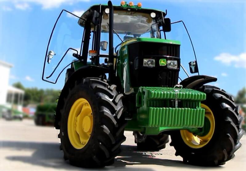 Трактор (John Deere 6B)