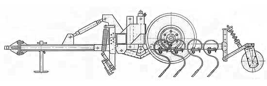 Культиватор широкозахватный (КПШ-9)
