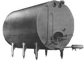 Ёмкость для хранения молока (Г6-ОМГ(В2-ОМ2Г-10))