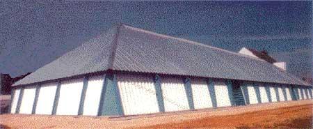 Зернохранилище ангарного типа
