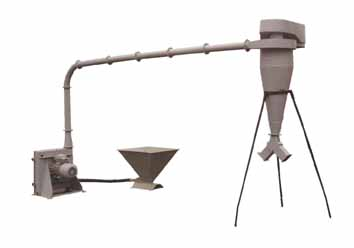 Дробилка зерна пневматическая (ДЗП-0,7)