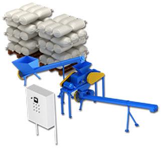 Линия плющения зерна (ЛП)