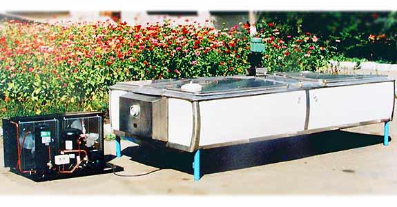 Резервуар охладитель молока (МКА 2000Л 2Б)