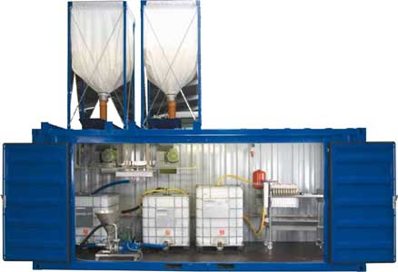 Установка для производства дизельного топлива (биодизель) (CAF 200-1)