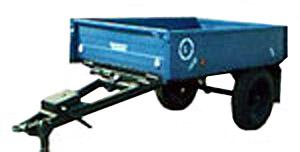 Полуприцеп тракторный самосвальный (1ПТС-1)