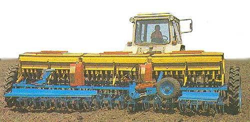 Сеялка зернотуковая широкозахватная (СШЗ-5,4)