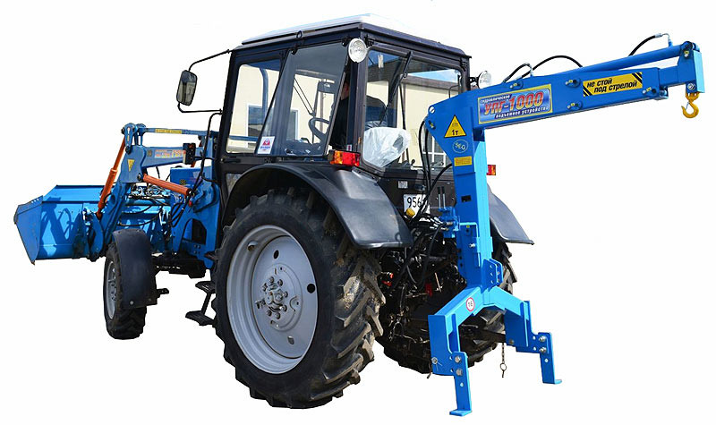 Устройство подъемное гидравлическое на трактор МТЗ (УПГ-1000)