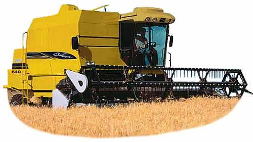 Комбайн зерноуборочный (Challenger CH 640)