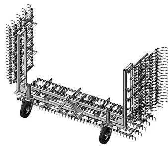 Борона пружинная (БПН-8, БПП-16 (20))