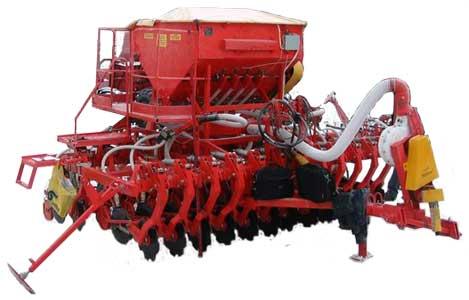 Сеялка зернотукотравяная для прямого посева (СПП-3,6)
