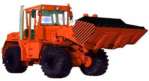 Погрузчик ковшовый (ПФК-702М)