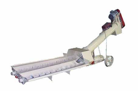 Конвейер винтовой разгрузчик ж/д вагонов (У9-РХ-61)
