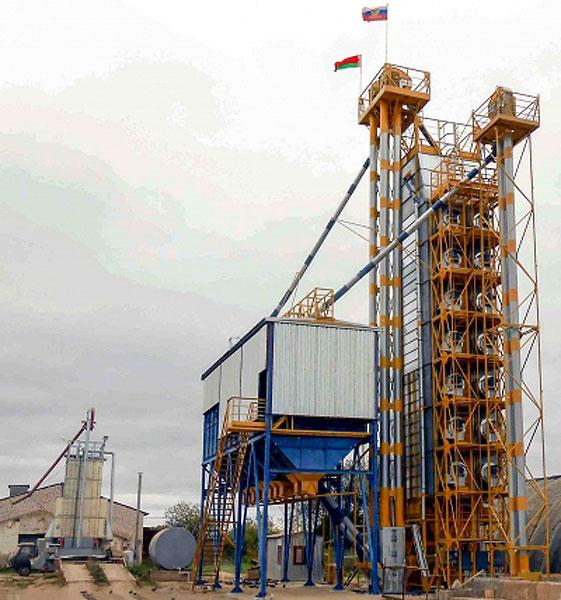 Сушилка зерновая шахтная модульная наборная (СЗШН)