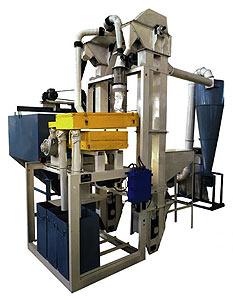 Агрегат очистки и подготовки зерна к помолу (РТ-АОЗ-ЗП)