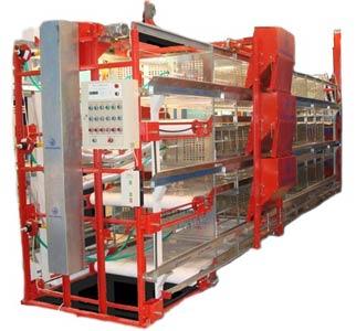 Комплект оборудования для выращивания бройлеров с выгрузкой птицы (КП-25ВМ)