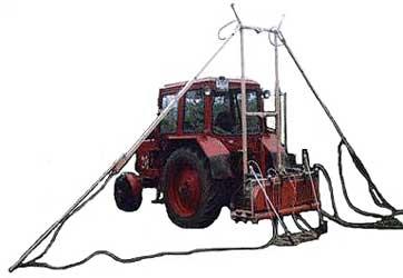 Агрегат для ухода за садами, виноградниками и ягодниками (АСВ-8)