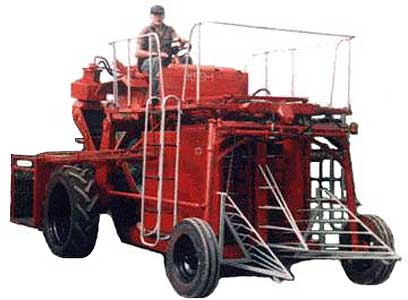 Комбайн для уборки смородины (КПЯ-1)