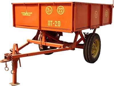Прицеп тракторный (ПТ-2,0)