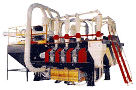 Мельница агрегатная вальцевая (АМВ-7(15))